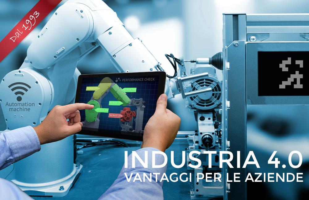 Industria 4.0: i vantaggi per le Aziende